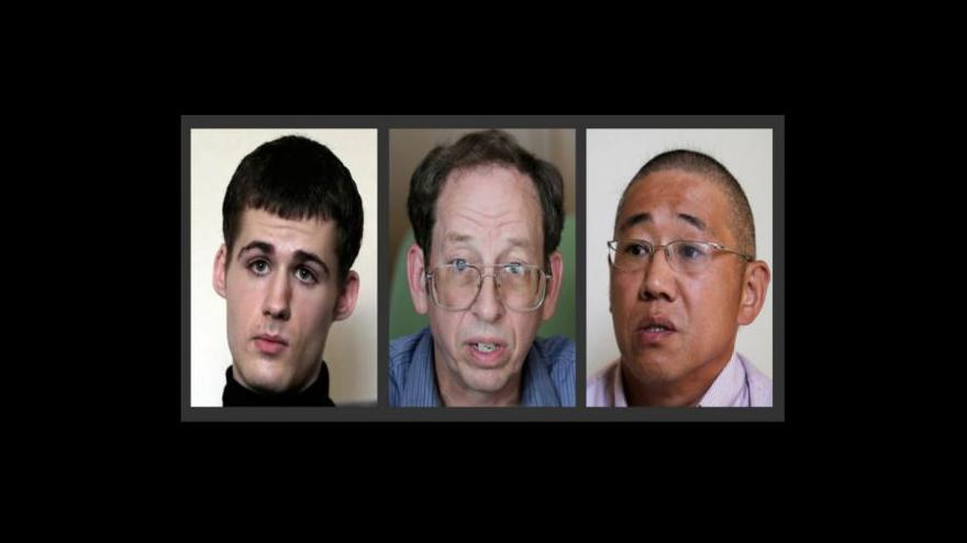 Video Rozhovory CNN s americkými vězni v Severní Koreji
