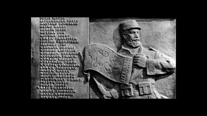 Video Zavadil: Legionáři v Paříži vzpomenou rotu Nazdar