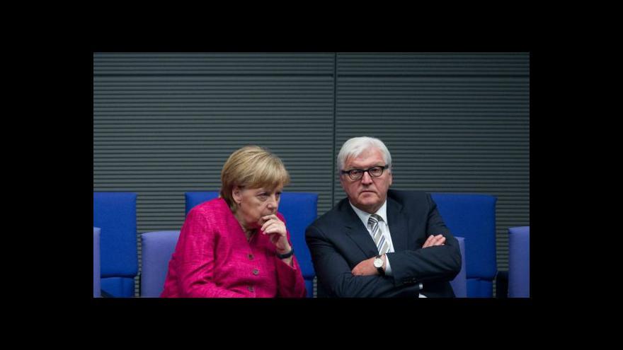 Video Německo vyzbrojí Kurdy bojující proti islamistům