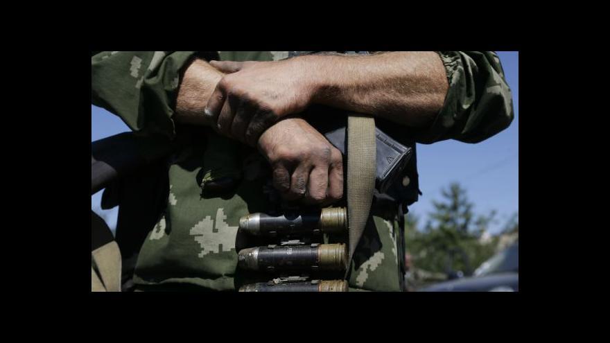 Video Horizont: Proruští povstalci tlačí armádu k ústupu