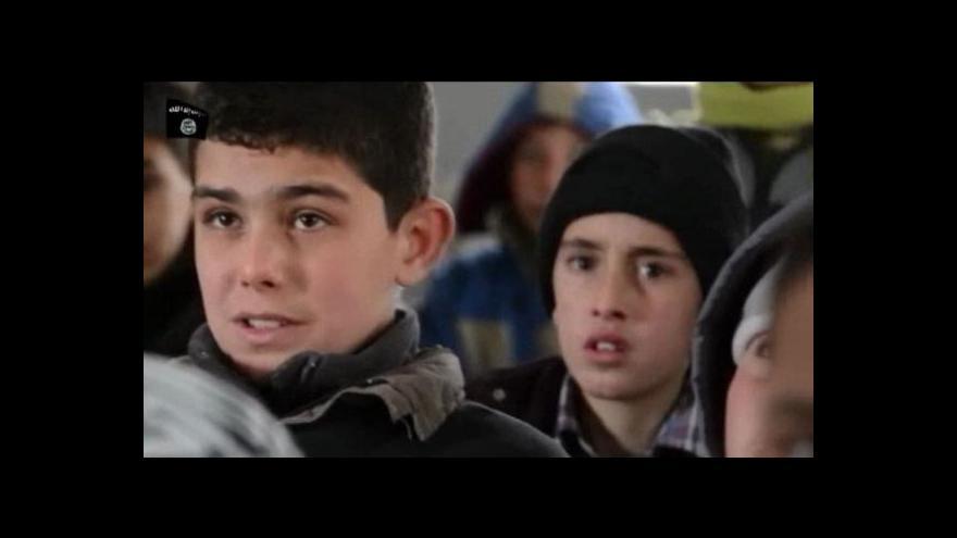 Video Islamisté vychovávají dětské bojovníky