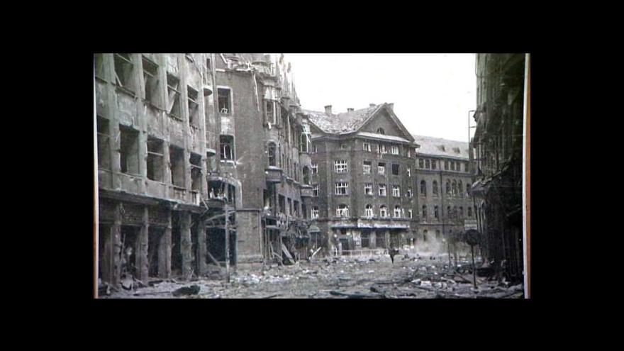 Video 70 let od bombardování Ostravy Američany.