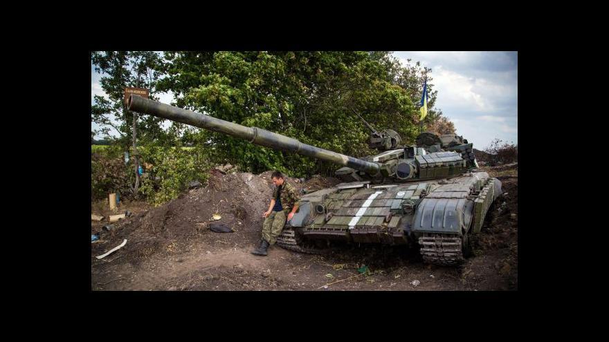 Video Zpravodaj ČRo: Ukrajinská armáda je v defenzivě