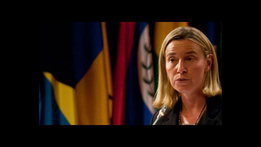 Video Bude Mogheriniová novou šéfkou diplomacie EU?