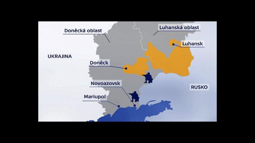 Video Události: Kyjev mluví o ruském vpádu a žádá o pomoc