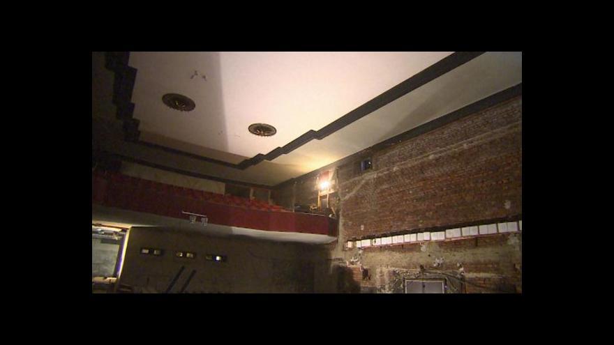 Video V kině Varšava začaly opravy