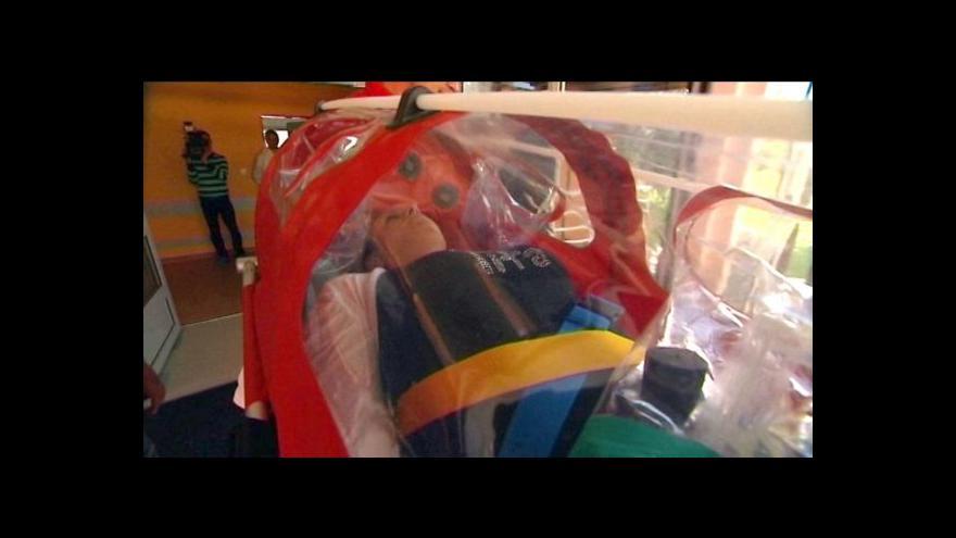 Video Havířovský biobox je připravený i na pacienta s podezřením na ebolu