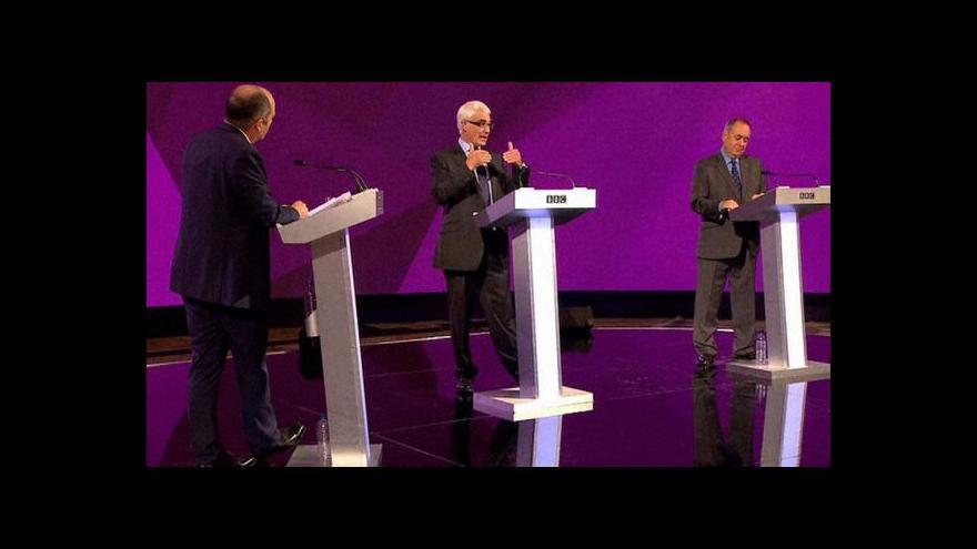 Video Vítězem poslední debaty se stal zastánce skotské nezávislosti