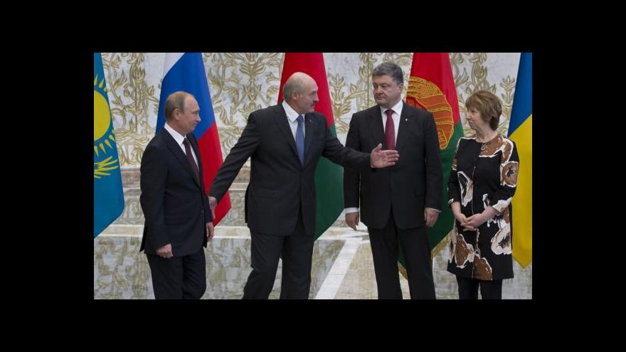 Video Události, komentáře k setkání Putina a Porošenka v Minsku