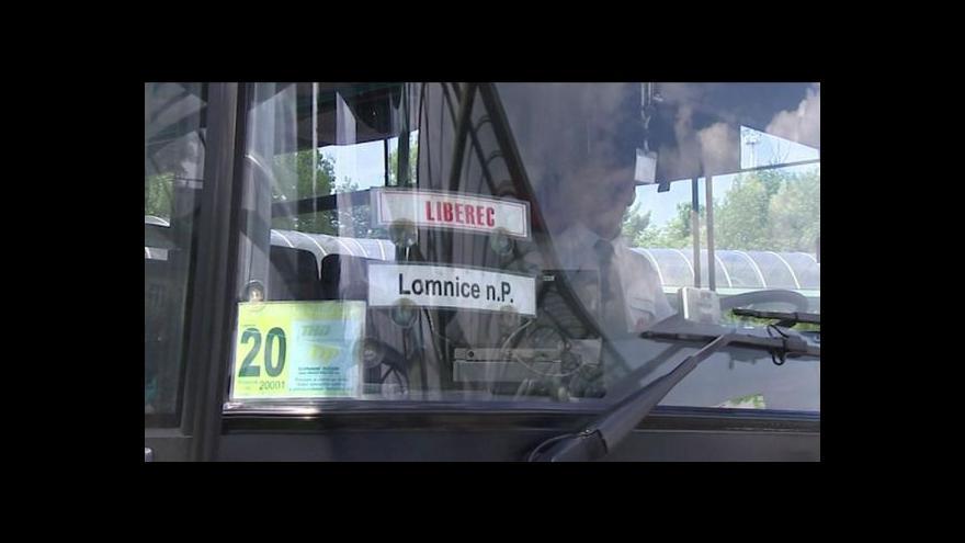 Video Liberecký autobusový tendr tématem Událostí v regionech