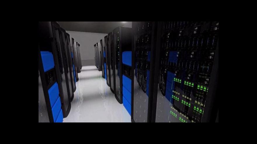 Video Události: Unikátní superpočítač v Česku