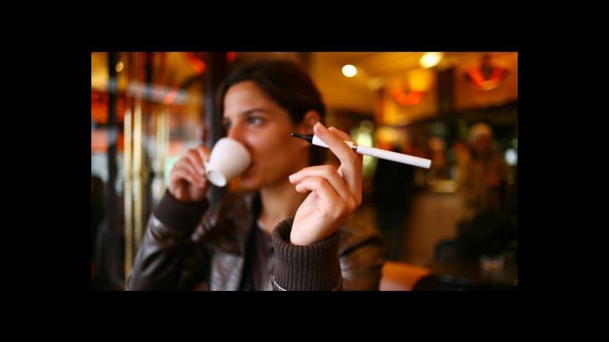 Video Králíková: Důležitější je zákaz klasických cigaret