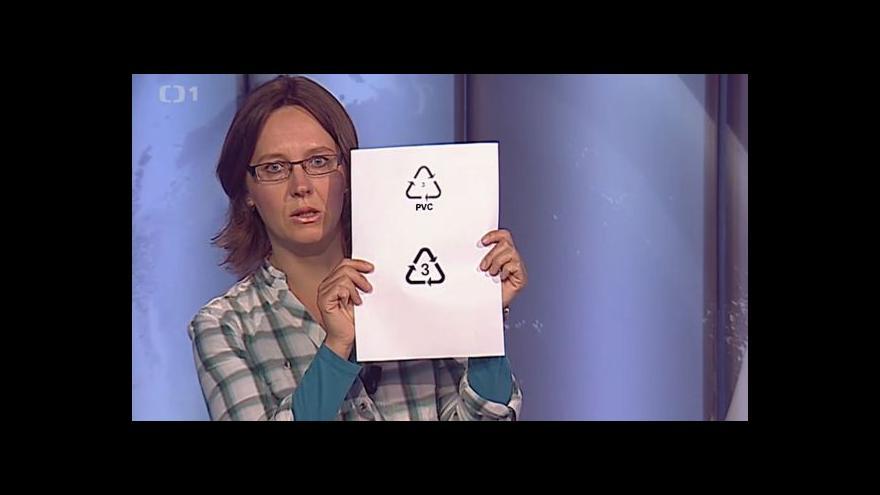 Video Karolína Brabcová upozorňuje na školní pomůcky s ftaláty