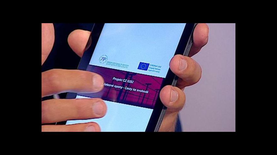 Video Miroslav Kasáček z OS PAMĚŤ: Vytvořili jsme aplikaci o železné oponě