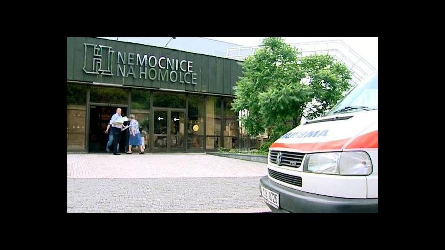 Video Němeček: Praha by měla víc přispívat na provoz nemocnic