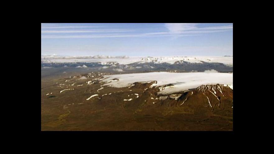 Video Islandská sopka Bárdarbunga hrozí prvními erupcemi