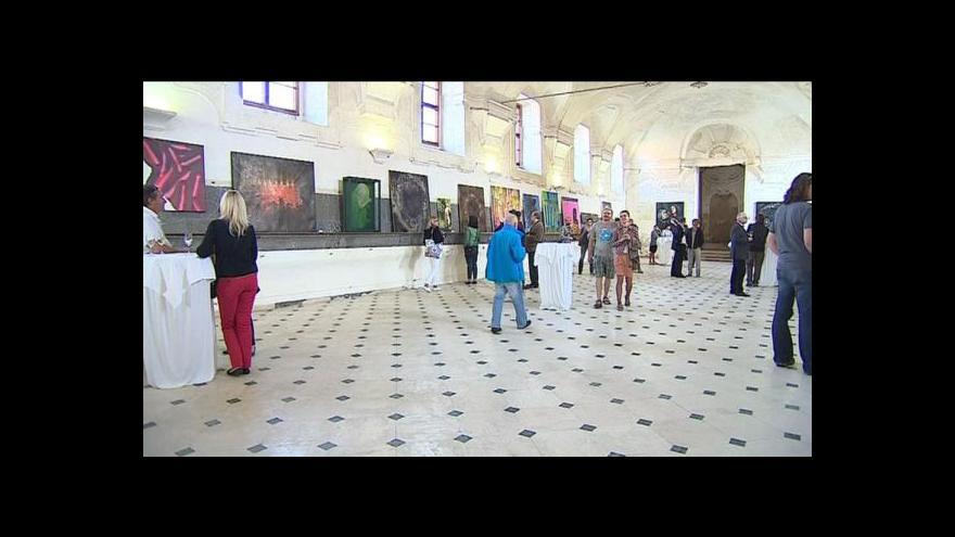 Video Výstava Zukunst na valtickém zámku spojuje národy
