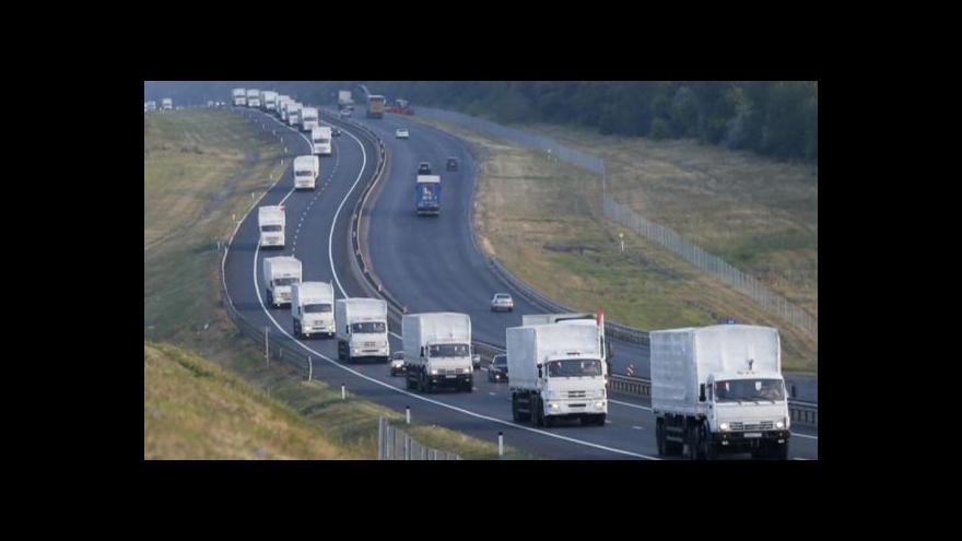 Video Všechny ruské konvoje jsou už v Luhansku