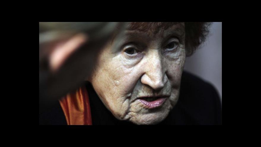 Video Smrt Bohumily Grögerové tématem Událostí v kultuře