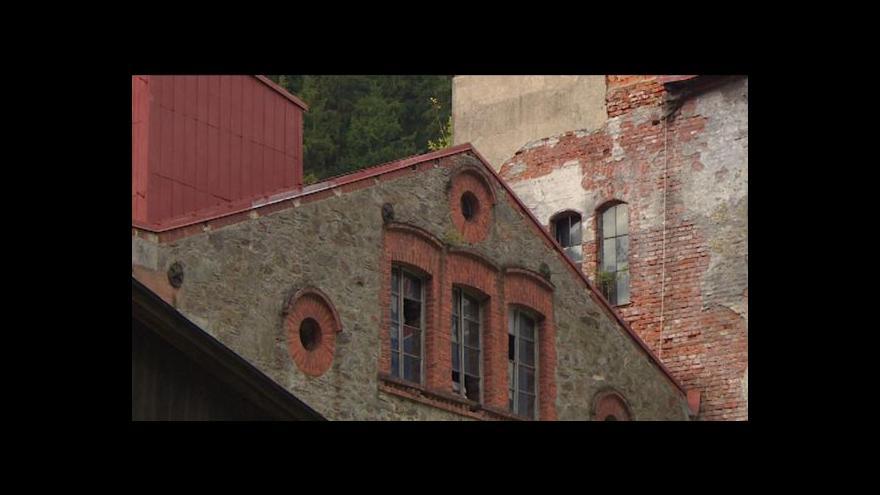 Video Opuštěná místa: Dixova brusírna dřeva v Krkonoších