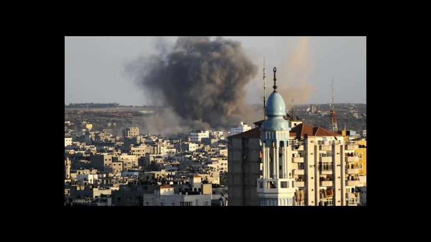 Video Západ chystá návrh rezoluce ke Gaze