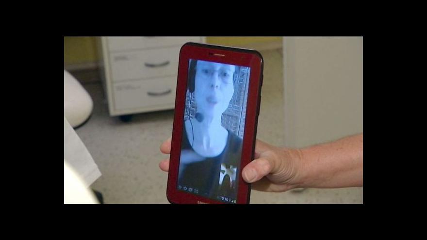 Video Nemocnice tlumočí neslyšícím pomocí tabletů