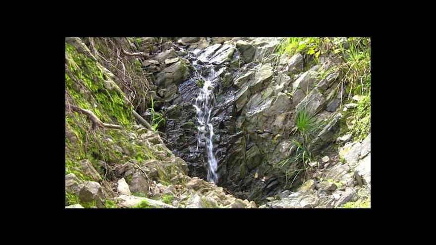 Video V Krkonoších se objevily nové geologické útvary