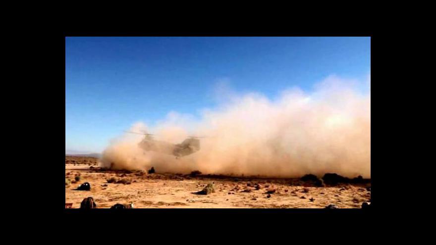 Video USA pátraly po rukojmích islamistů