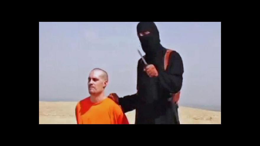 Video Lenka Klicperová k zavraždění Jamese Foleyho
