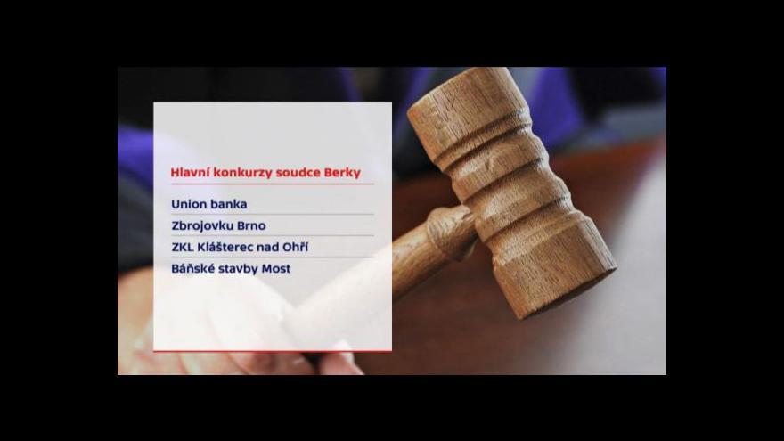 Video Amnestie se prý na případ Berka nevztahuje