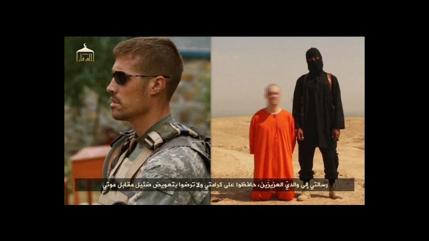 Video Zveřejněno video se zabitím novináře