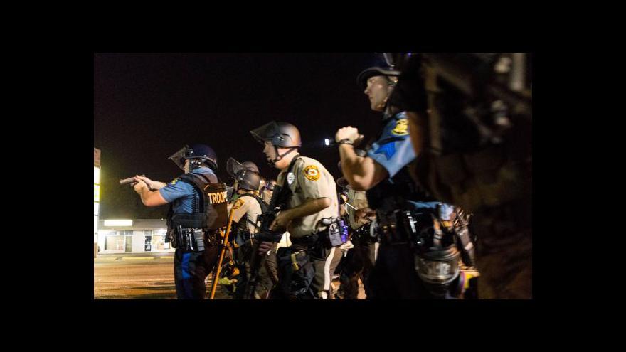 Video U Fergusonu zastřelili policisté dalšího černocha
