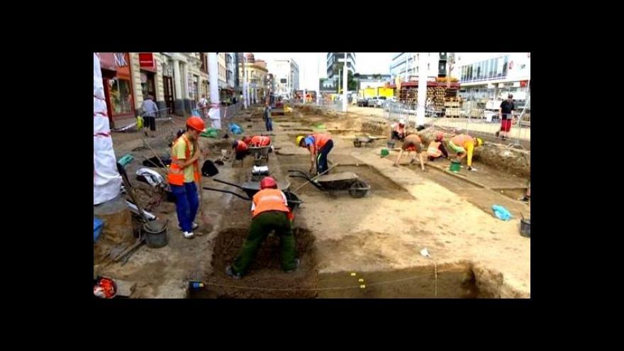 Video Jedinečné archeologické nálezy v centru Pardubic