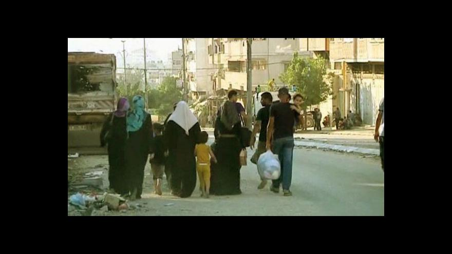 Video Obnovené boje v Gaze mají první oběti