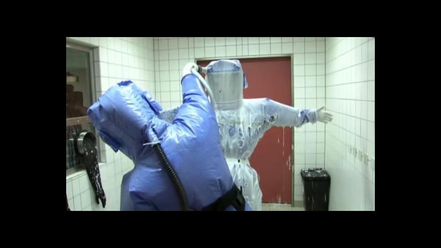 Video Panika kvůli ebole zasáhla i střední Evropu