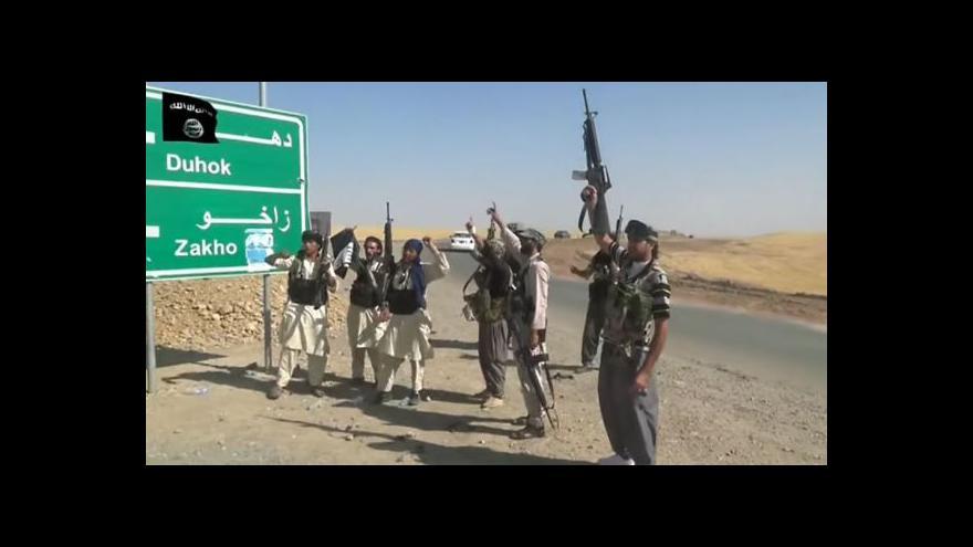 Video Irácké armádě se zatím nepodařilo dobýt Tikrít
