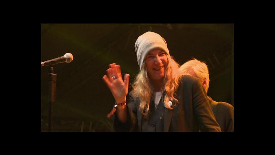 Video Na český Trutnoff dorazila i písničkářka Patti Smithová