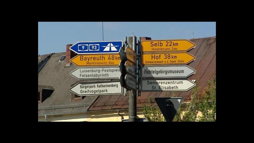Video V česko-německém pohraničí sílí obavy ze zavedení mýtného