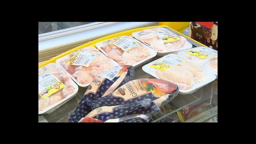 Video Rozmrazené maso bude muset prodejce označit
