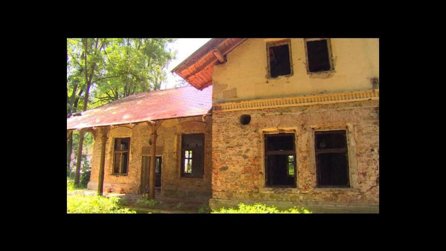 Video Události v regionech: Opuštěná restaurace Rudolfov
