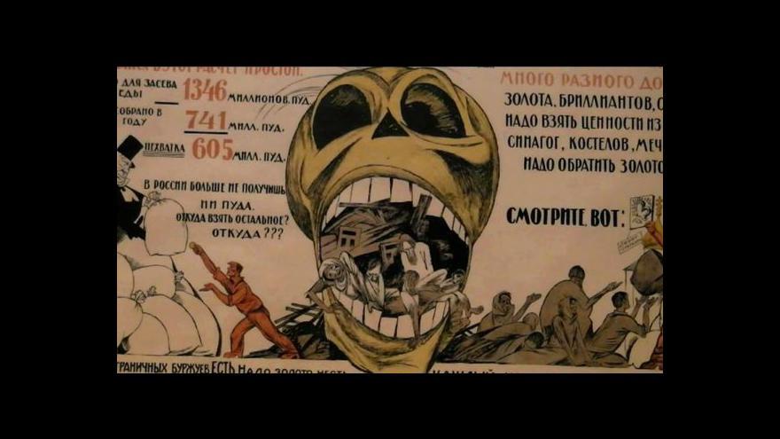 Video Výstava připomíná Rusko v první světové válce