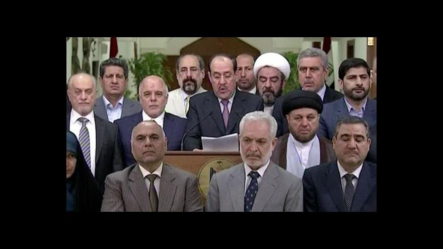 Video Málikí vyjádřil podporu Abádímu