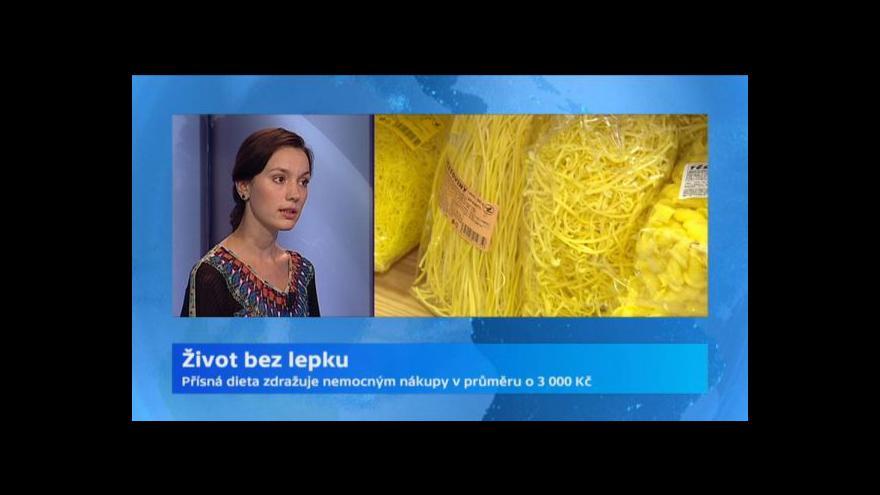 Video Lášková: Celiakovi hrozí bez diety rozvrat metabolismu