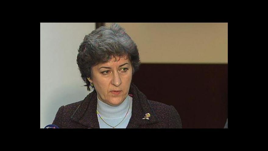 Video Alena Gajdůšková: Ministr potřebuje lidi, na které se může spolehnout