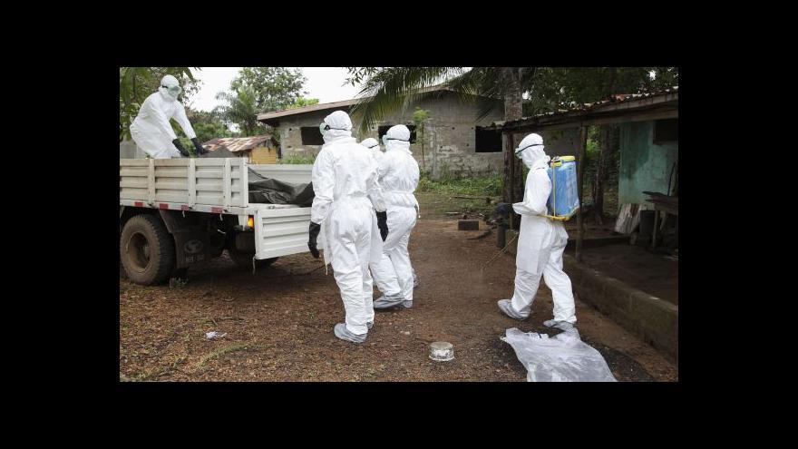 Video Valenta: V okamžiku podezření na ebolu by byl aktivován epidemiologický tým