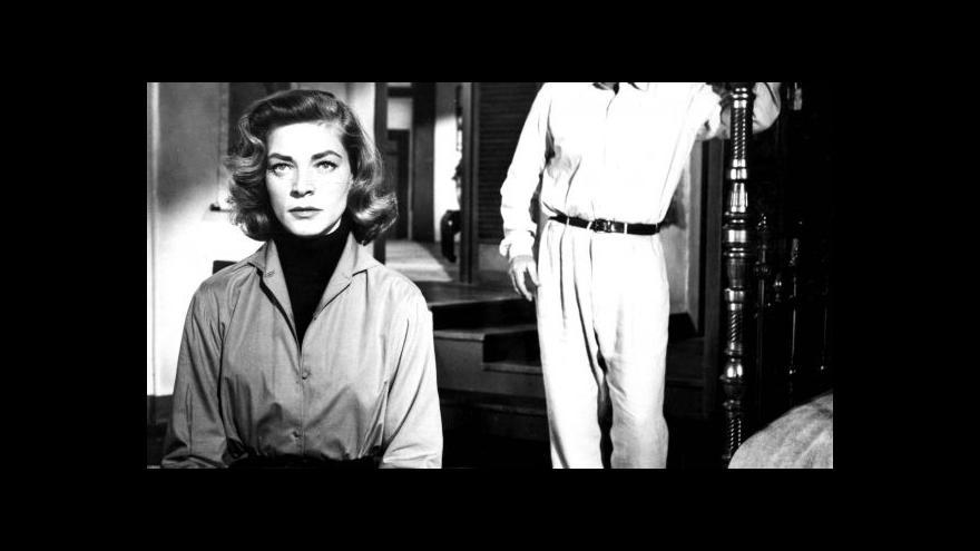 Video Zemřela šarmantní kráska noirových filmů Lauren Bacallová