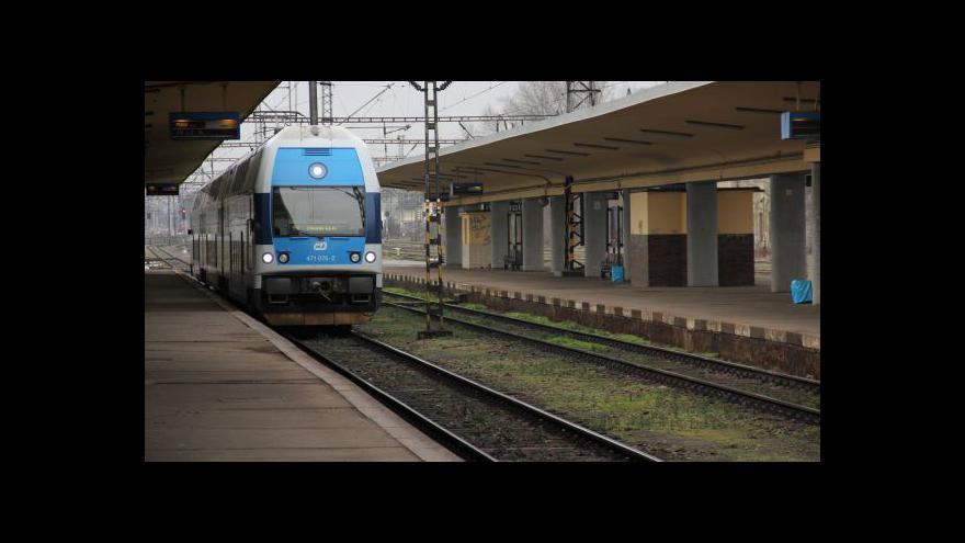 Video Ve středních Čechách bude od prosince jezdit víc vlaků