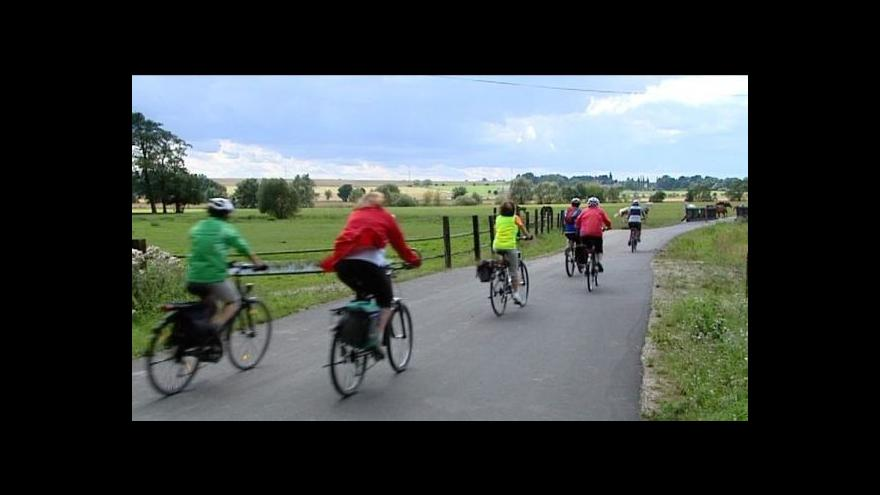 Video Nová síť cyklostezek propojí Německo s Českem