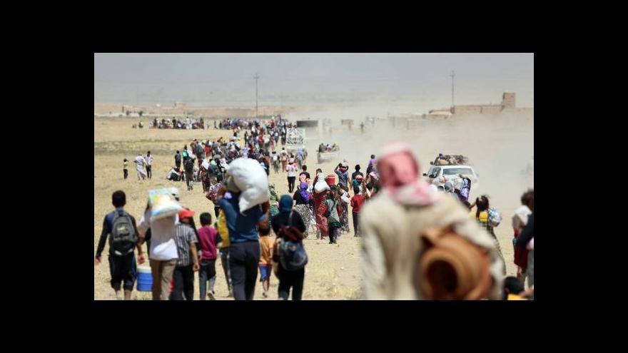 Video Své stíhačky do Iráku vyšlou i Britové