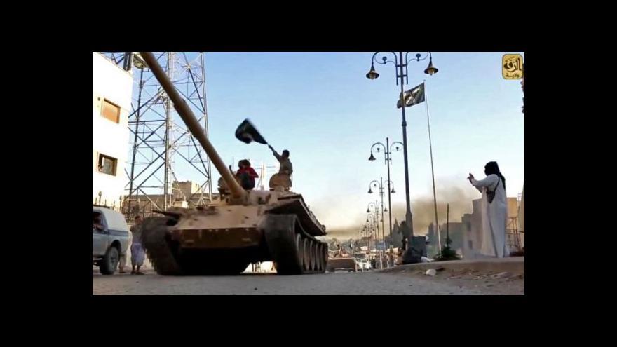 Video Islámský stát: Dobře vycvičení a vyzbrojení bojovníci